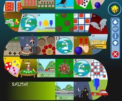 Aprender las tablas de multiplicar con el Juego de la Oca. (concurso.cnice.mec.es)